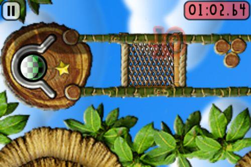 Screenshot Kleine Metallkugel auf dem iPhone