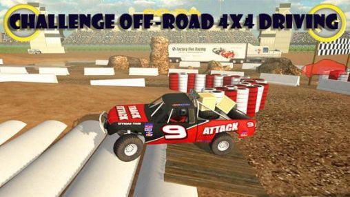 Challenge off-road 4x4 driving Symbol