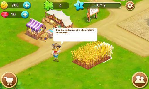 Farm games Barn story: Farm day in English