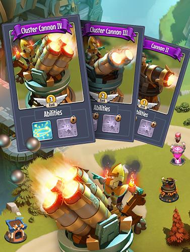 RPG Castle creeps TD für das Smartphone