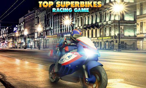 логотип Гонка лучших супер мотоциклов