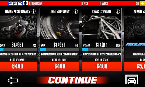 Carreras de automóviles para iPhone