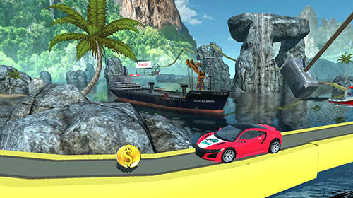 Hill top racing mania für Android