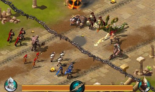 Screenshot Age of Sparta on iPhone