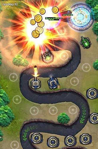 Strategie Tower defense: Galaxy 5 für das Smartphone