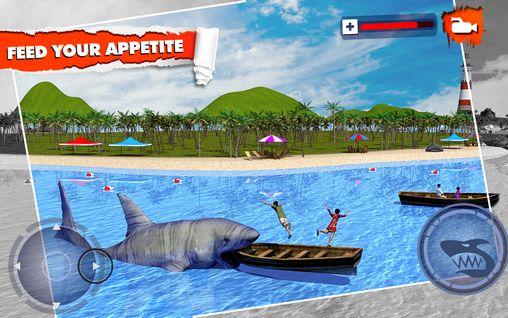 Angry shark: Simulator 3D の日本語版