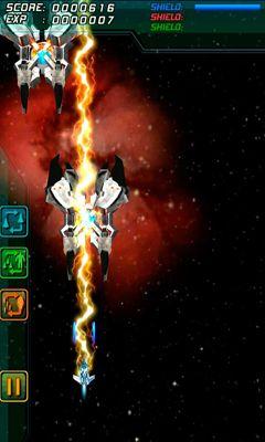 Arcade-Spiele Galaxy Gladiator für das Smartphone
