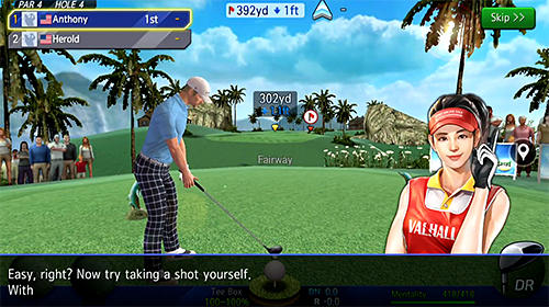 Shot online golf: World championship in Russian
