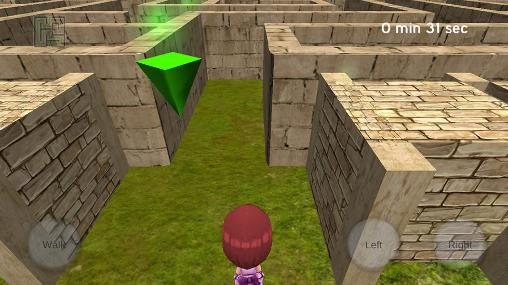3D maze para Android