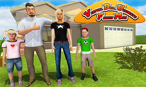 Virtual dad: Ultimate family man Symbol