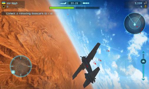 Simulator-Spiele Battle of warplanes für das Smartphone