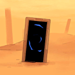 Through abandoned Symbol