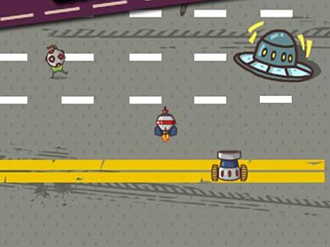 Car smash aliens screenshot 2
