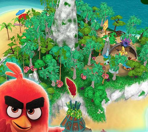 Angry birds explore auf Deutsch