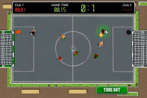 Simulation games: download Tiny soccer to your phone