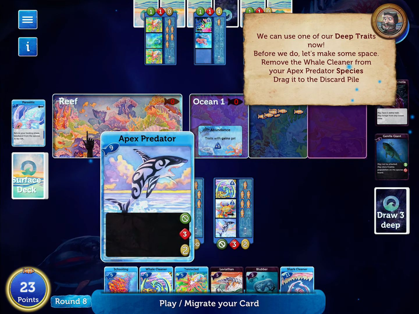 Oceans Board Game Lite para Android