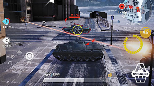 Armored warfare: Assault capture d'écran 3