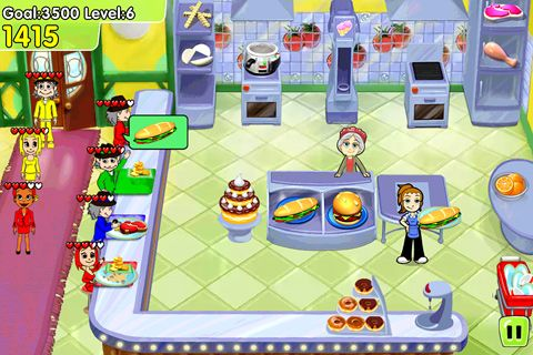 Screenshot Cooking Dash: Deluxe auf dem iPhone