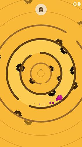 Arcade-Spiele Hell's circle: Addictive tap tap arcade für das Smartphone