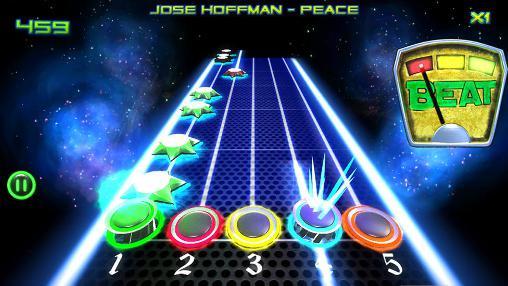 Arcade Trance guitar music legends für das Smartphone