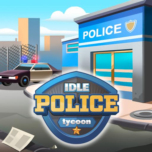 Idle Police Tycoon - Cops Game ícone