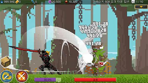 Arcade Ego sword: Idle sword clicker para teléfono inteligente