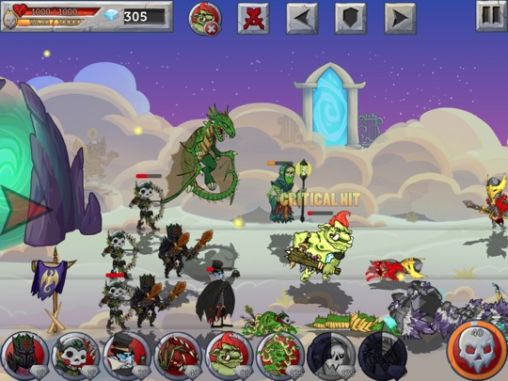 Monster wars pour Android