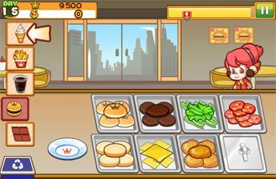 Screenshot Burger Queen World auf dem iPhone