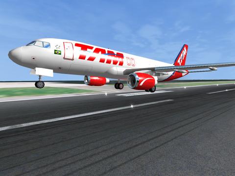 Flugsimulator Online 2014 für iPhone
