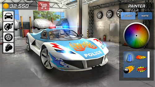 Police car chase: Cop simulator capture d'écran 1