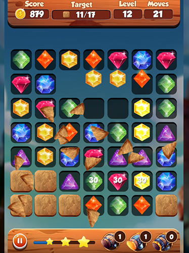 Puzzle king matchs: King's jewerly für Android