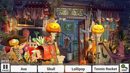 Halloween: Hidden objects auf Deutsch
