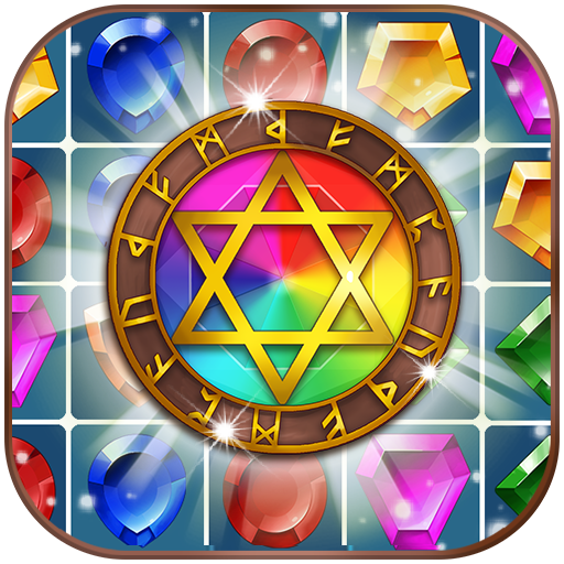 Иконка Jewels Magic Kingdom: Match-3 puzzle