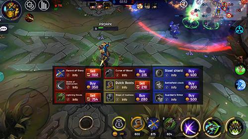 RPG-Spiele Iron league für das Smartphone