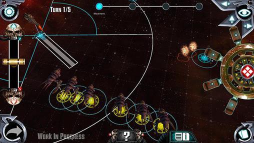 Strategie Battlefleet gothic: Leviathan für das Smartphone