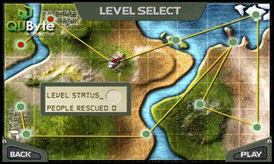 Simulação Rescue Teampara smartphone
