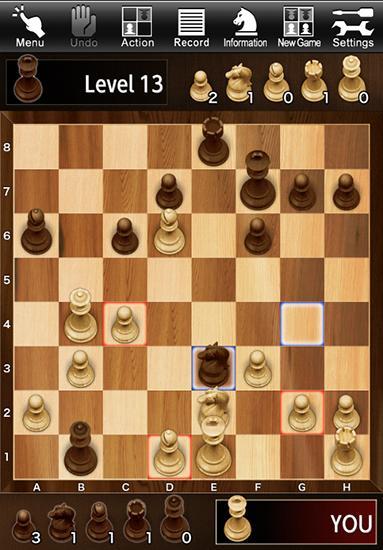 Brettspiele The chess: Crazy bishop auf Deutsch