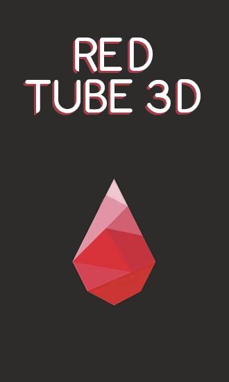 Red tube 3D ícone