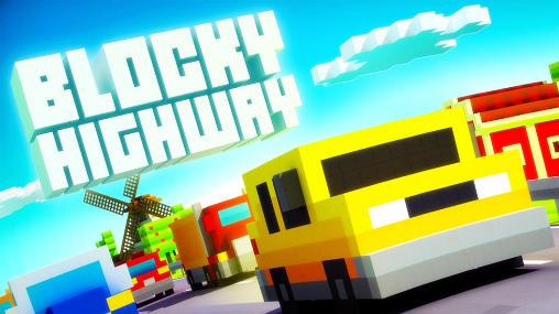 Blocky highway Screenshot