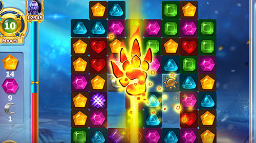 Diamonds time: Mystery story match 3 game für Android