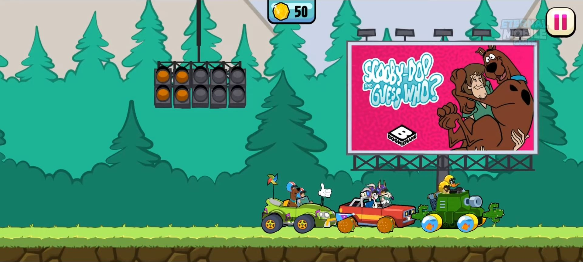Boomerang Make and Race 2 - Cartoon Racing Game captura de tela 1