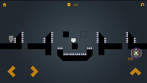 Arcade Ail: Immortal hero 2D pixel platformer für das Smartphone