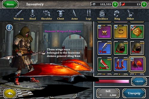 Blood and glory: Immortals for iPhone for free
