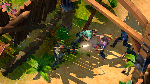 Actionspiele Steven Seagal's archipelago survival für das Smartphone
