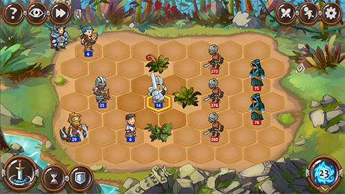 Braveland heroes para Android