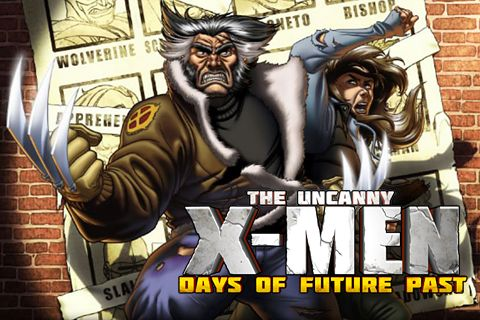 Screenshot Uncanny X-Men: Days of future past on iPhone