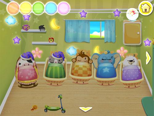 Screenshot Dr. Panda's Kindergarten auf dem iPhone