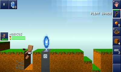 Pixel art games The Blockheads in English