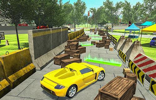 Simulator-Spiele Parking masters: Supercar driver für das Smartphone