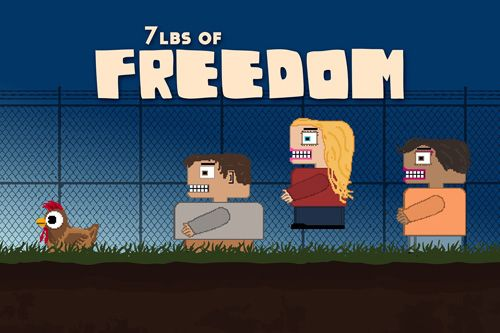 logo 7 lbs of freedom